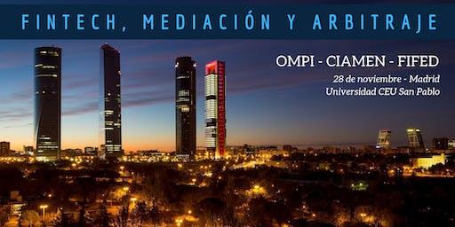 Jornada sobre innovación en el sector FinTech, Mediación y Arbitraje
