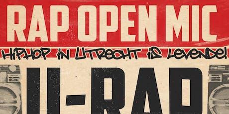 U Rap - Open Mic (niet-performen) tickets