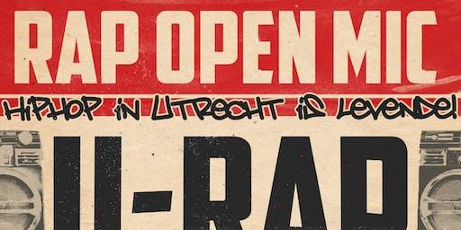 U Rap - Open Mic (niet-performen)
