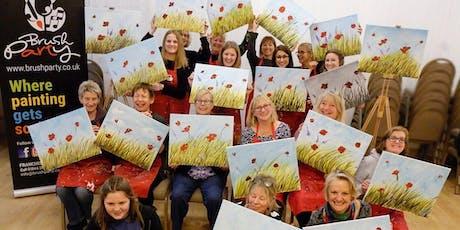 Poppy Field Brush Party - Teddington tickets