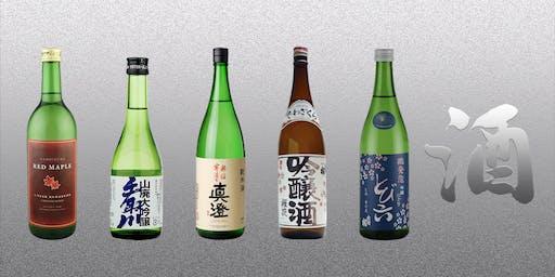 Sake Tasting evening with Sake Sommelier: World Sake ltd