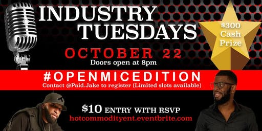 Industry Tuesdays #openmicedition