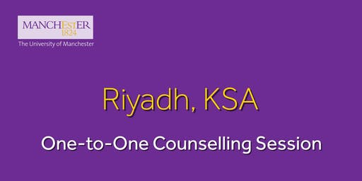 The Manchester Global Part-time MBA One-to-One Counselling Session - Riyadh