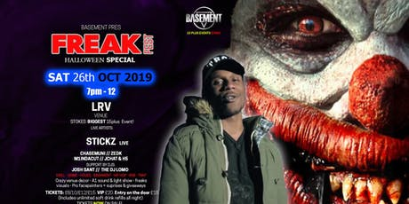 Freak fest Halloween special @ LRV venue tickets