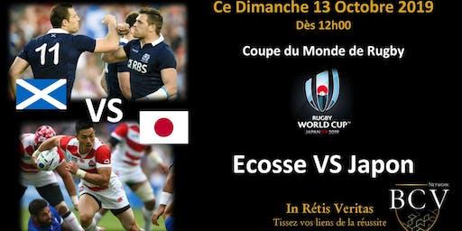 Ecosse VS Japon Coupe du Monde de rugby