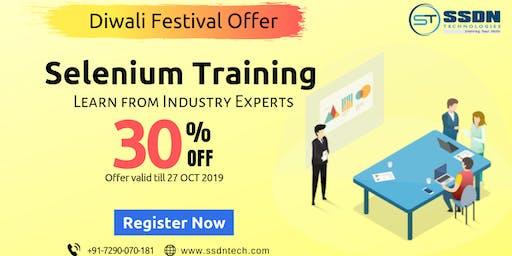 30% Off on Selenium Training in Delhi(Paid Training)