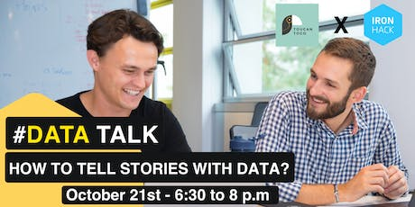 #DATATALK | How to tell stories with Data? billets