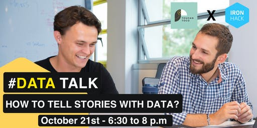 #DATATALK | How to tell stories with Data?