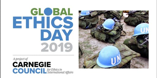 Global Ethics Day 2019: Cornelia Weiss on Law, Peace, Gender