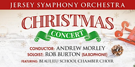Jersey Symphony Orchestra - Christmas Concert 2019 tickets