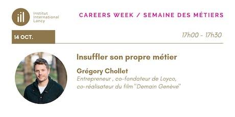 Careers Week Conference Series- Grégory Chollet billets