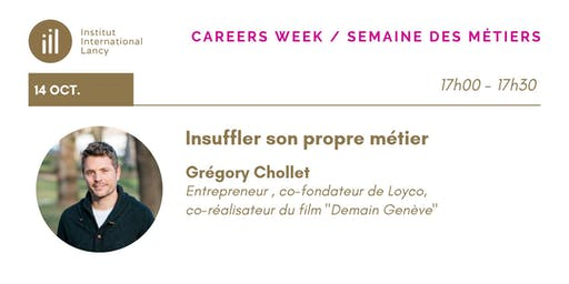 Careers Week Conference Series- Grégory Chollet