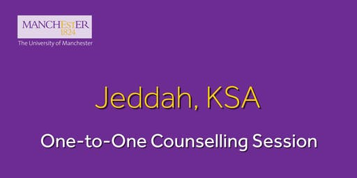The Manchester Global Part-time MBA One-to-One Counselling Session - Jeddah