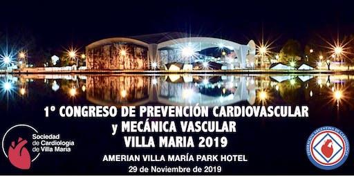1er Congreso de Prevención Cardiovascular y Mecánica Vascular 2019 - Villa María