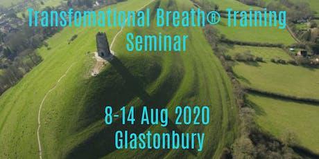 6-Day Residential Transformational Breath® Training Seminar tickets
