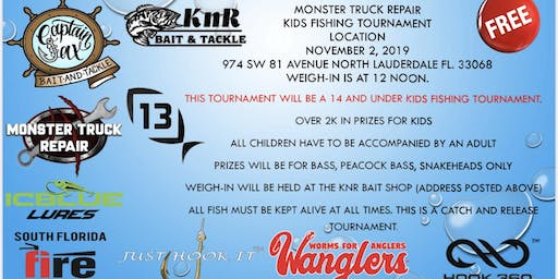 Monster Truck Kids Fishing Event