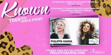 Philippa Hanna - Known Tour - Chrishall tickets