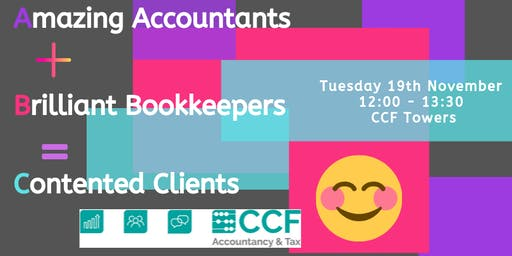 Amazing Accountants + Brilliant Bookkeepers = Contented Clients