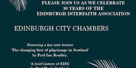 Edinburgh Interfaith Civic Reception (Celebrating 30 yrs of EIFA) tickets