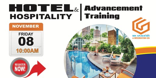 HOTEL & HOSPITALITY ADVANCEMENT TRAINING - N10,000