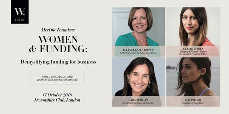 Meet the Founders: Women & Funding tickets
