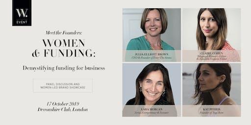 Meet the Founders: Women & Funding