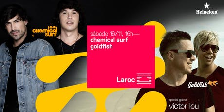 Chemical Surf, Goldfish e Victor Lou ingressos
