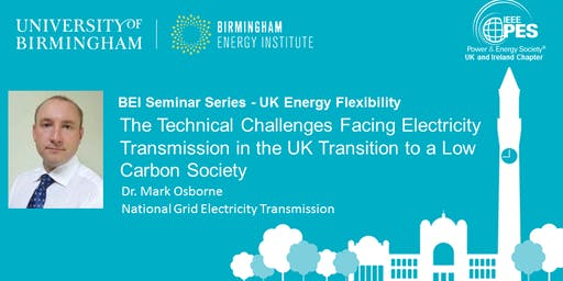 The Technical Challenges Facing Electricity Transmission in the UK...
