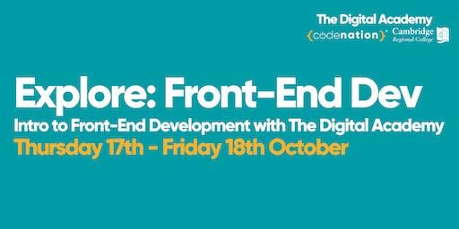 Explore: Front-End Dev - 2 day Front-End Development Course