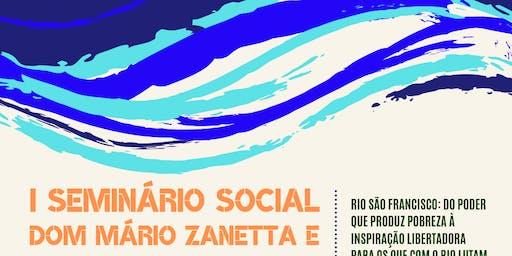 I SEMINÁRIO SOCIAL DOM MARIO ZANETTA E PADRE LOURENÇO TORI