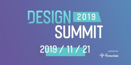 Fintechlab Design Summit 2019 tickets