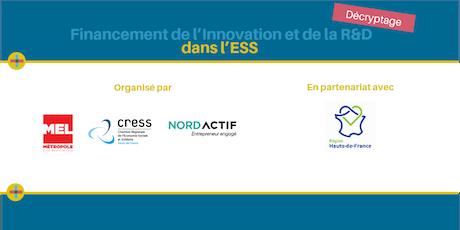 Décryptage du Financement de l'innovation et de la R&D en ESS billets