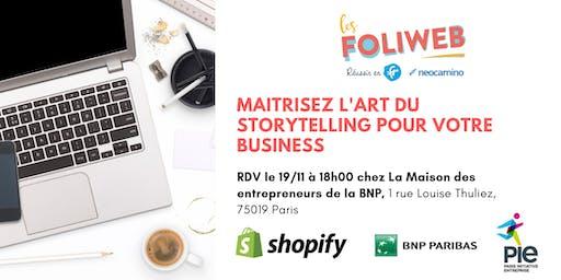 [Paris] Maitrisez l'art du storytelling pour votre business