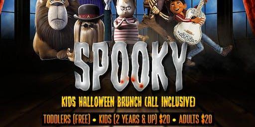 SPOOKY (Kids Halloween Brunch)