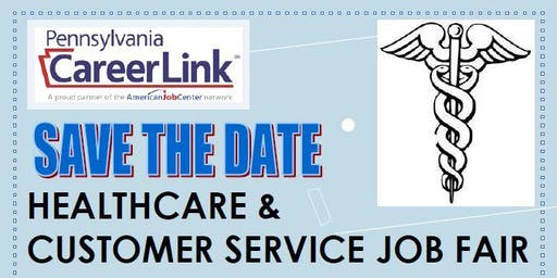 Healthcare and Customer Service Job Fair