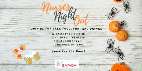Nurses Night Out! Come for the Boos! tickets