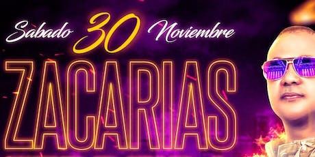 """Zacarias Ferreia """"En Concierto"""" Sábado 30 de Nov 2019 @ Dubai Nightclub tickets"""