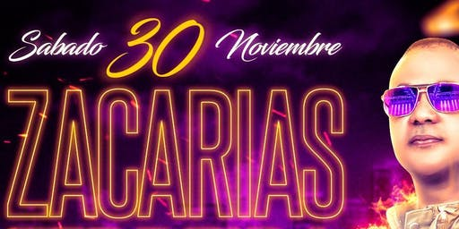 "Zacarias Ferreia ""En Concierto"" Sábado 30 de Nov 2019 @ Dubai Nightclub"