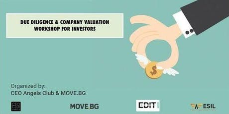 Due Diligence & Company Valuation Workshop for Investors tickets