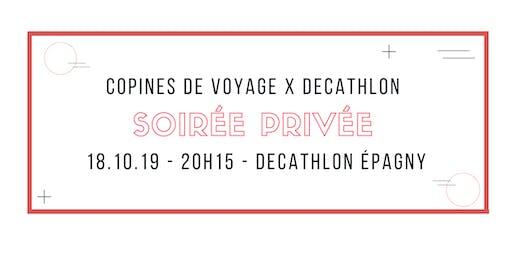 Soirée Copines de voyage X Decathlon à Epagny