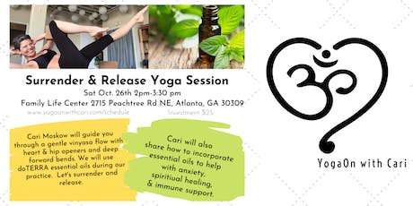 Surrender & Release Essential Oil Yoga Session tickets