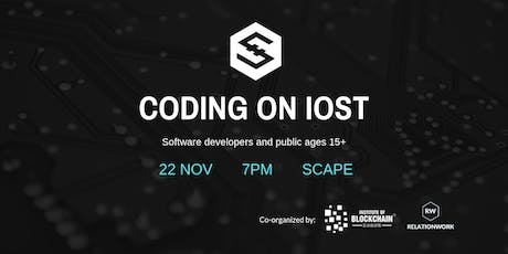 CODING ON IOST tickets