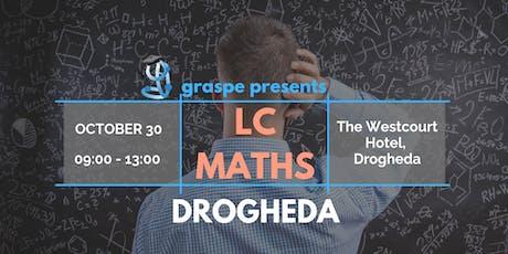 Drogheda Midterm Honours Level Leaving Cert Maths Revision Course tickets