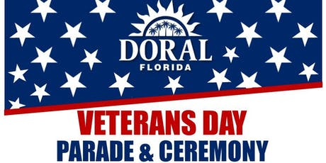 City of Doral's Veterans Day Parade & Ceremony tickets