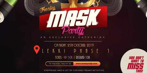 STN Lagos Mask Party