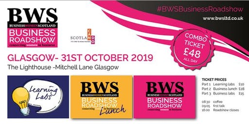 BWSBusinessRoadshow - Glasgow