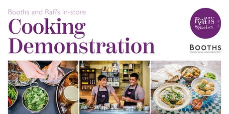 Booths and Rafi's In Store Cooking Demonstration tickets