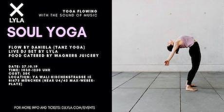 LYLA Soul Yoga Sunday Breakfast with DJ, Food, Drinks at Ya Wali Tickets