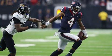 NFL Fanpark: Houston Texans V Jacksonville Jaguars tickets