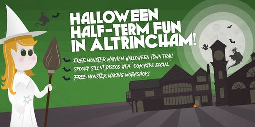 FREE Monster Making Workshops!